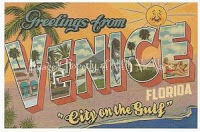 Greetings from Venice, Florida!